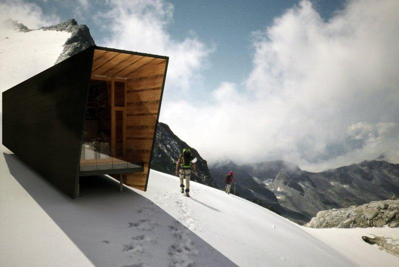bivacco alpino
