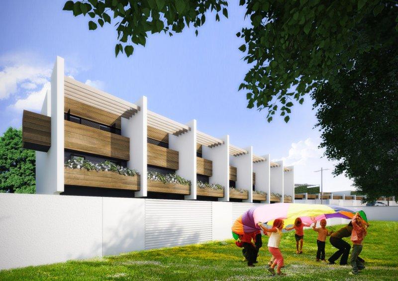 Lad laboratorio di architettura e design 5 case a patio for Case architettura