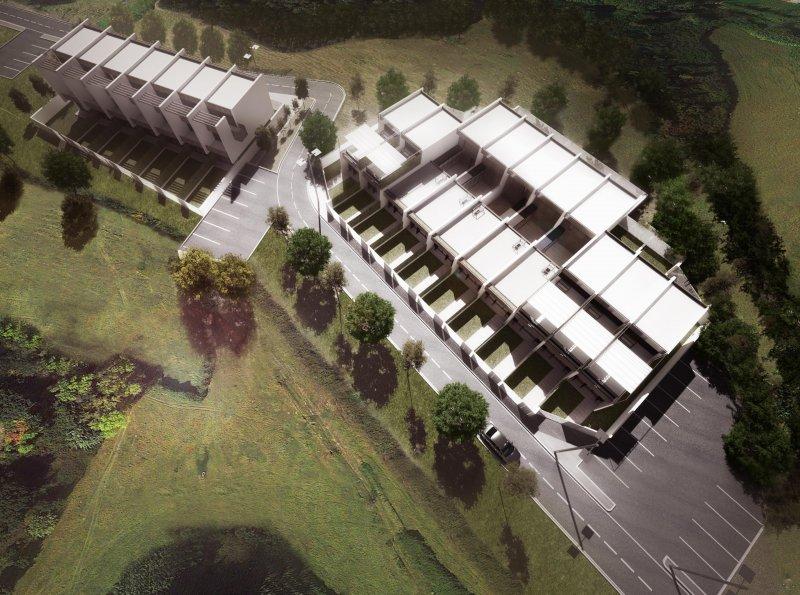 Lad laboratorio di architettura e design 5 case a patio for Architettura case