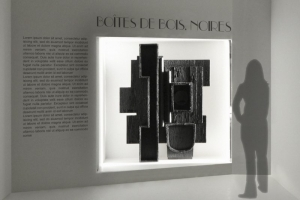 LUOISE NEVELSON EXHIBITION