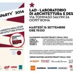 ArchitectsParty/2014 | Martedì 16 Settembre | LAD