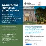 2019-03-13 ARQUITECTOS ROMANOS EN EL MUNDO